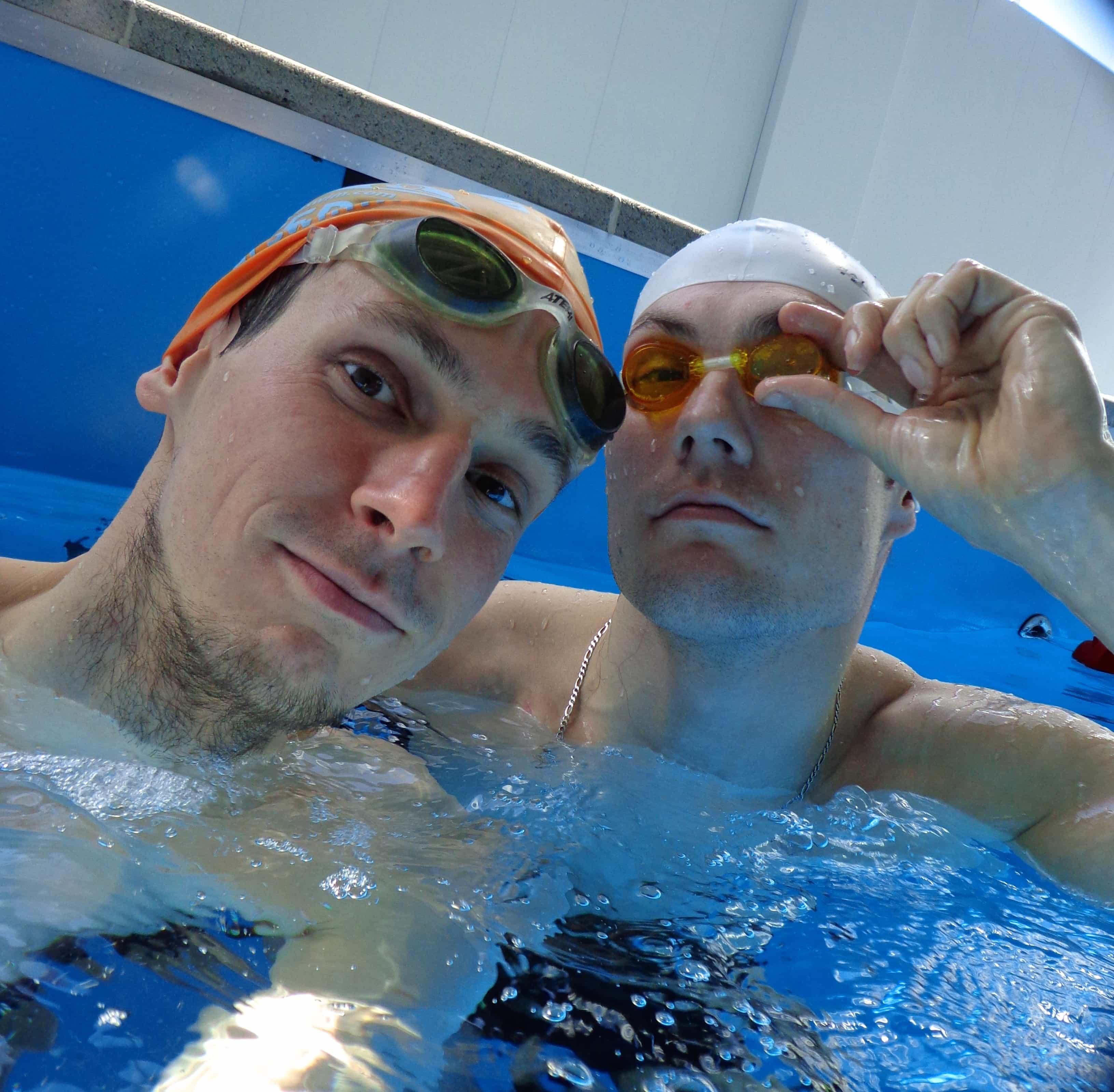 Юрий Попов и Алексей Лихобабин Как научиться плавать брассом