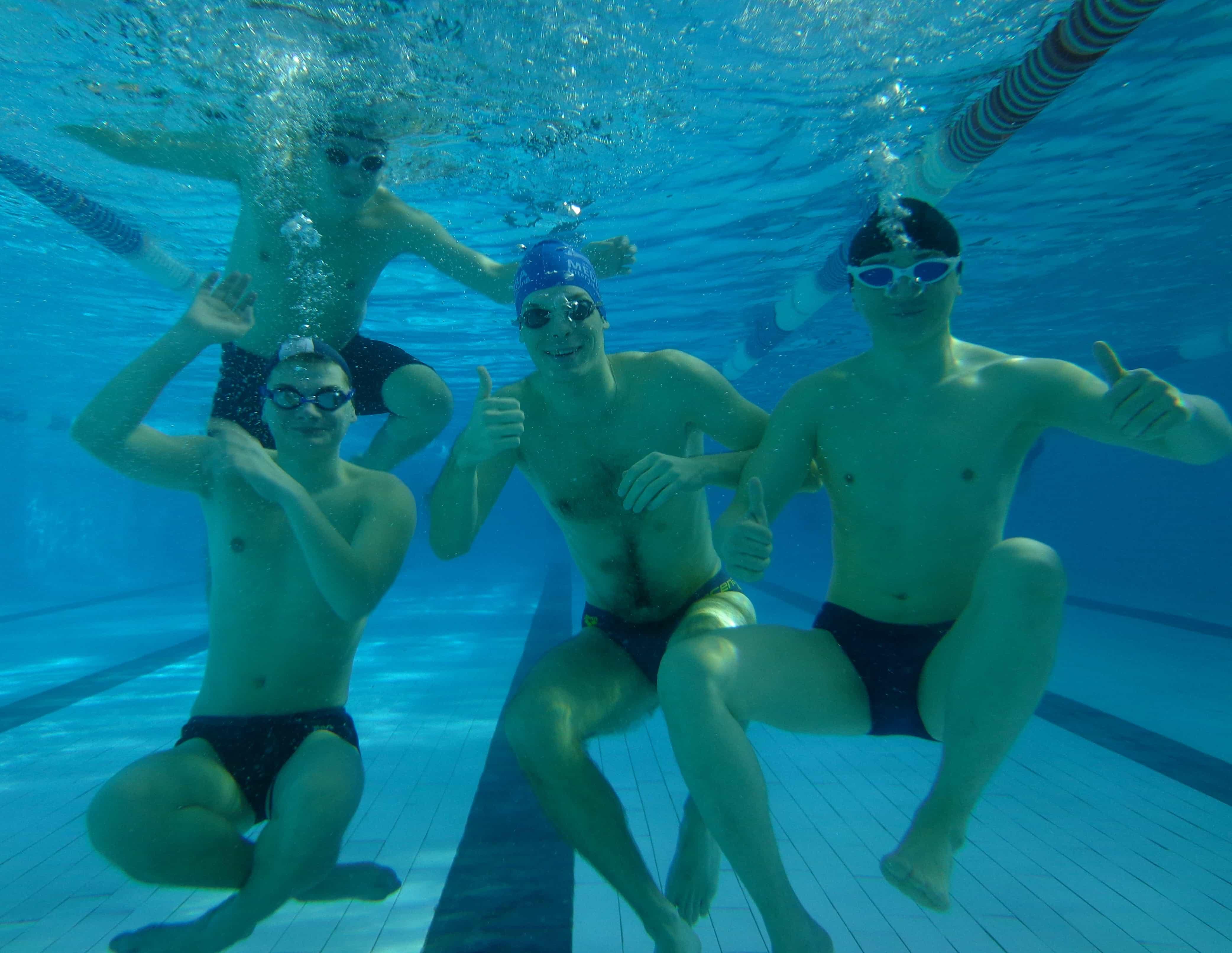 Обучение взрослых плаванию