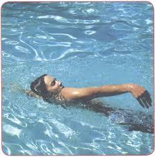 Расслабленное запястье при плавании кролем