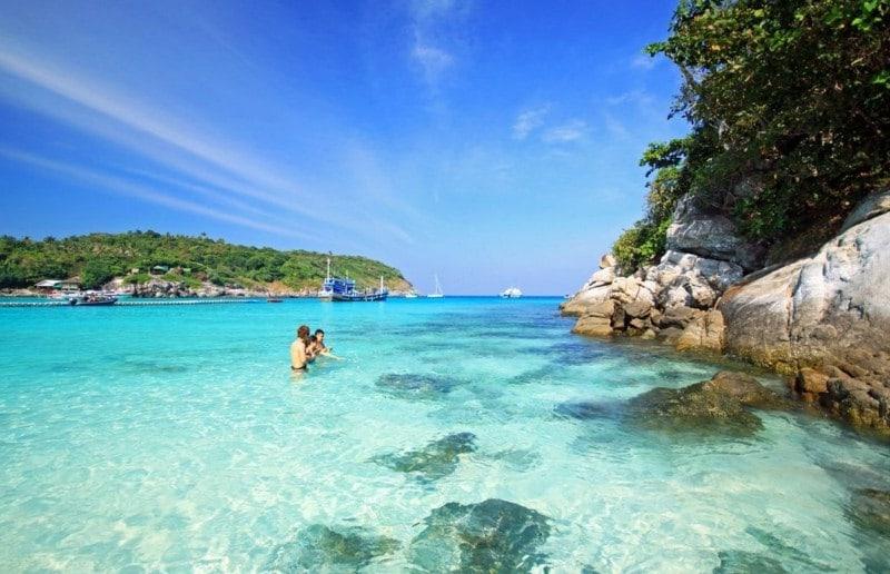 Кораловый остров, Тайланд