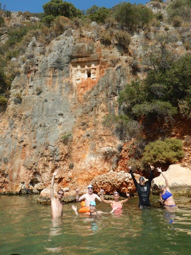 Плавание на открытой воде в Турции