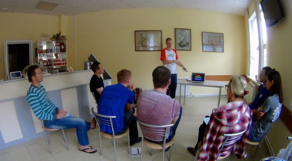 Обучение плаванию в Рязани Лихобабин