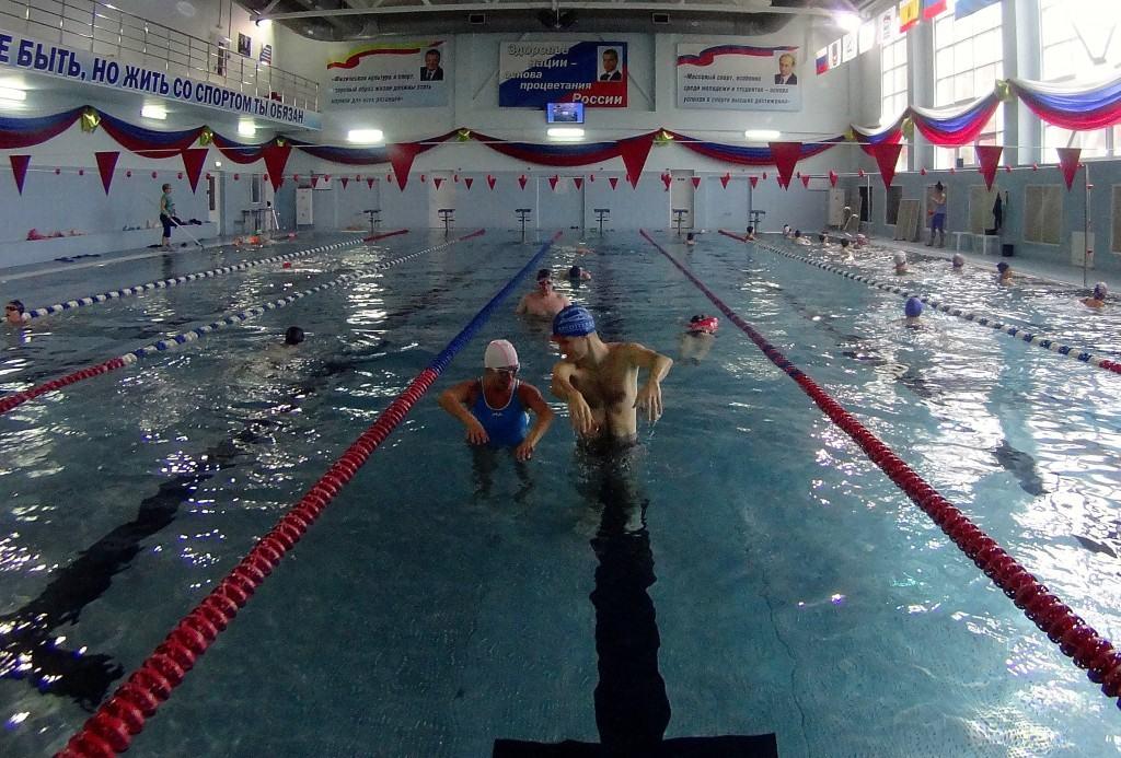 Обучение плаванию взрослых в Рязани с нуля