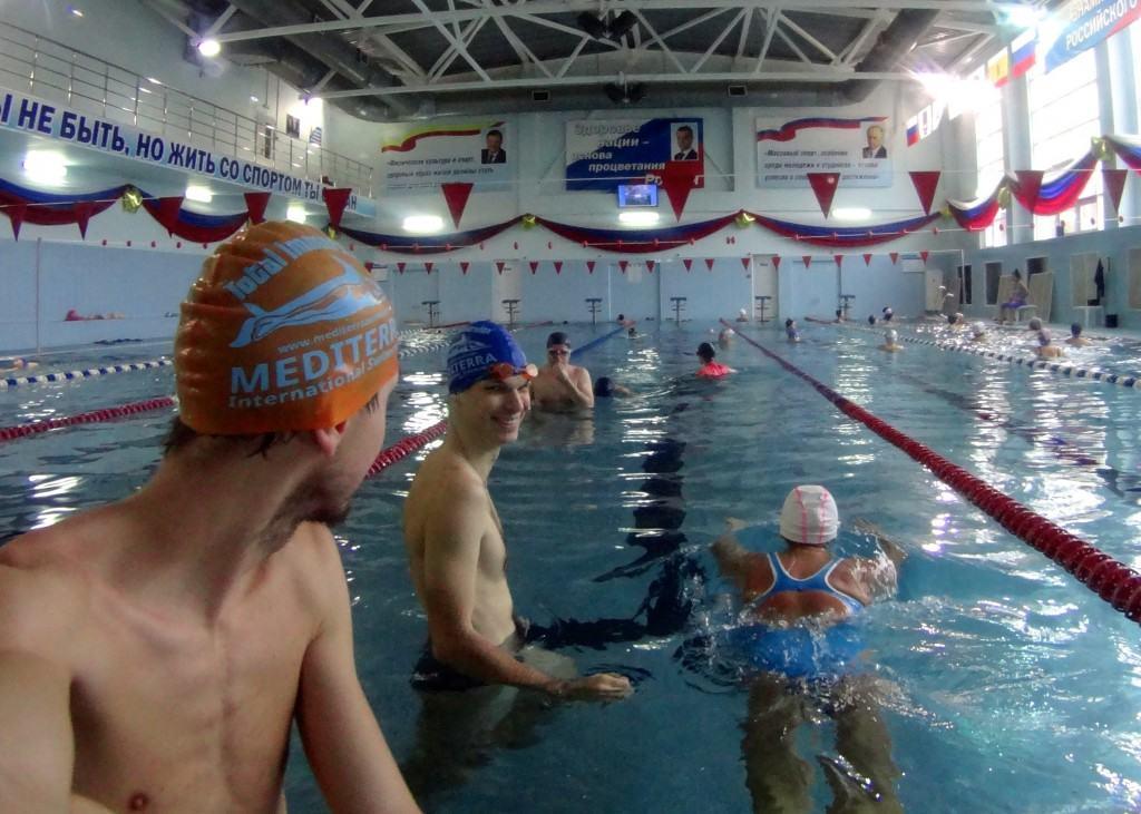 Тренировки по плаванию в Рязани Лихобабин
