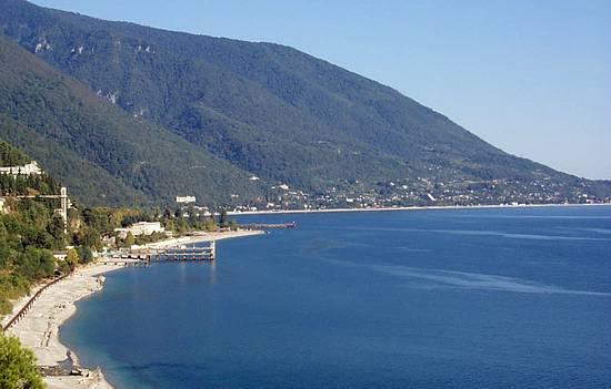 Абхазия, Гагры, плавательный кэмп